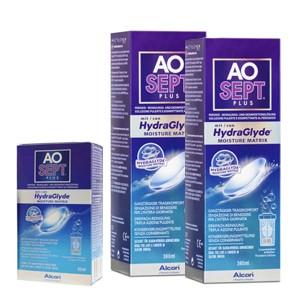 AoSept Plus 360ml x 2 + Kit viagem