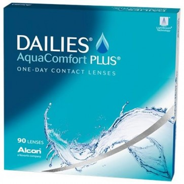 Dailies Aquaconfort Plus (90)